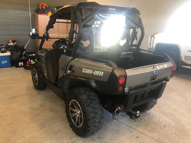 2013 Can Am commader 1000 Limited  UTV