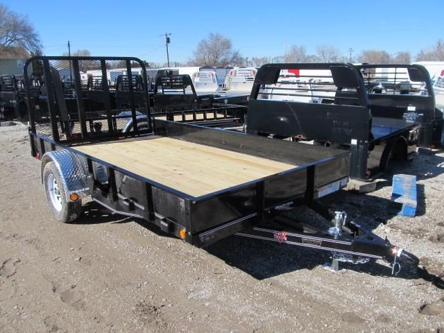 "2020 PJ Trailers 77"" x 12 Channel Utility Trailer"