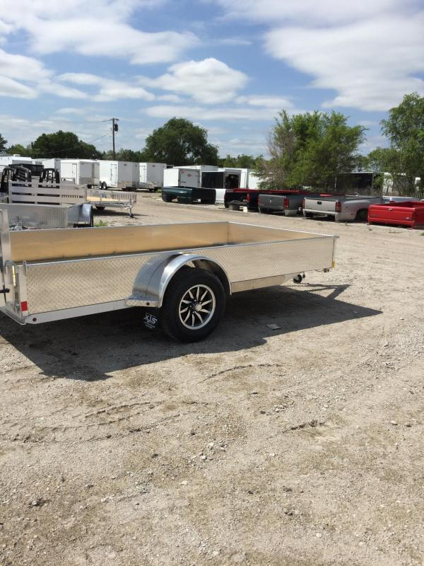 2021 H and H Trailer H7810SSA-030 Utility Trailer