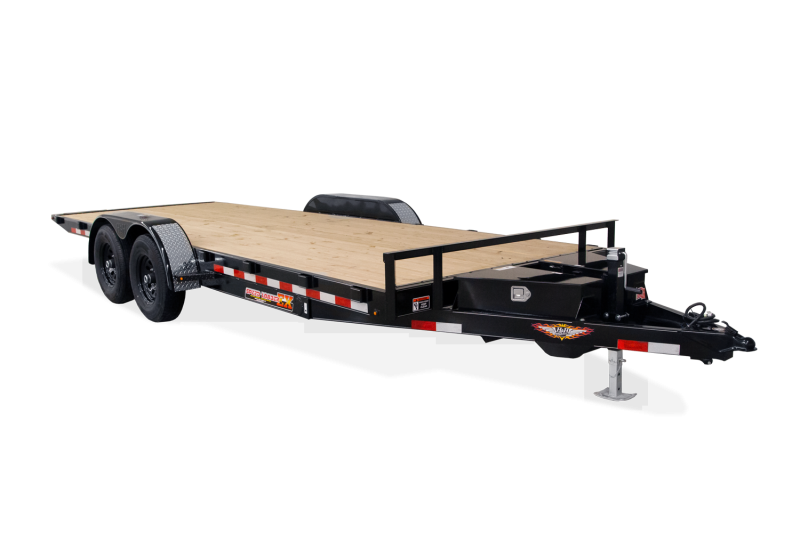 2020 H and H Trailer H822OEX-100 Flatbed Trailer