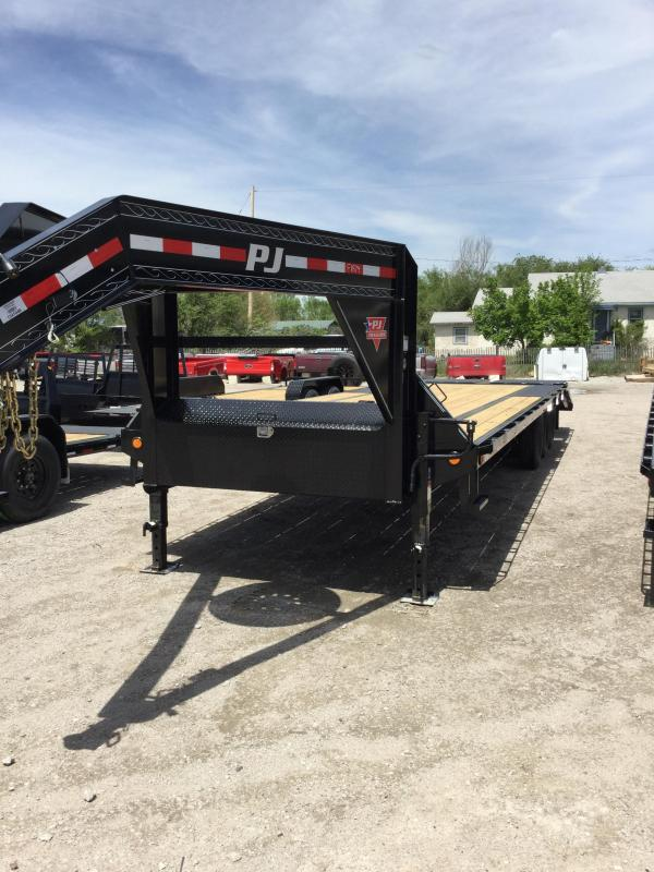 2020 PJ Trailers LS303 Flatbed Trailer