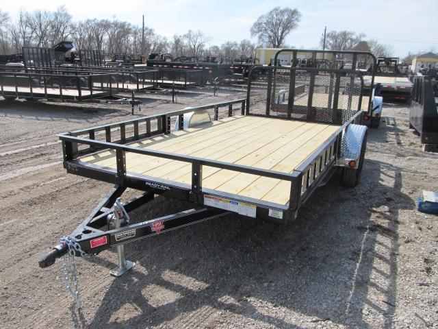 "2020 PJ Trailers 83"" x 14 Channel Utility Trailer"