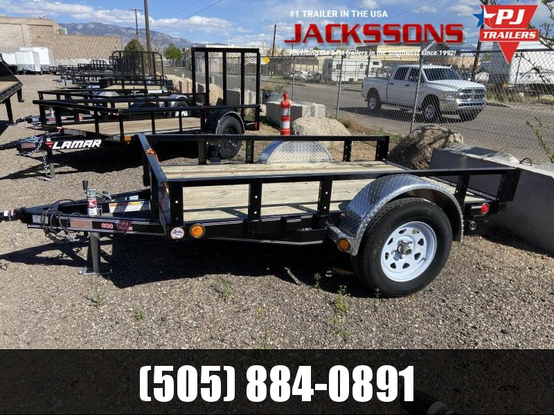 "2019 PJ Trailers 8' x 60"" Channel Utility Trailer"