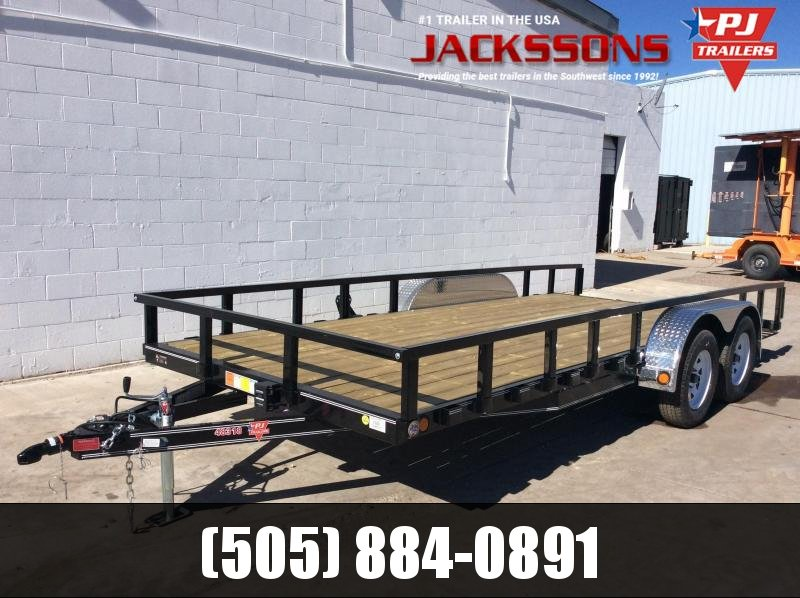 "2020 PJ Trailers 18' x 83"" Channel Utility Trailer"
