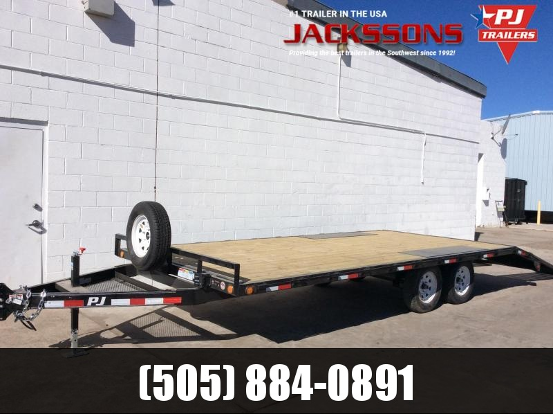 "2018 PJ Trailers 18' Med. Duty Deckover 6"" Channel Trailer"