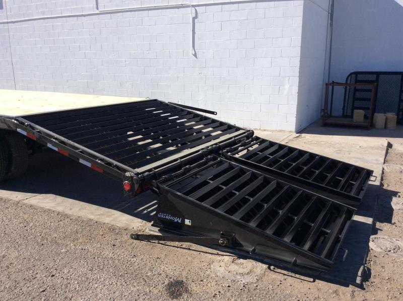 2019 PJ Trailers 25' Classic Flatdeck with Duals Trailer