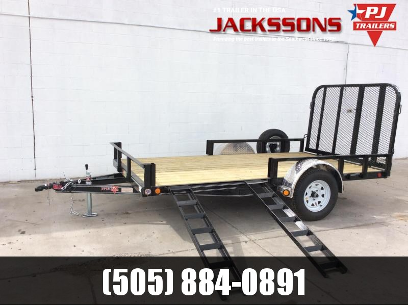 "2019 PJ Trailers 14' x 83"" Channel Utility Trailer"