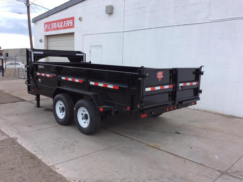 "2020 PJ GN 14' x 83"" Tandem Axle Dump Trailer"
