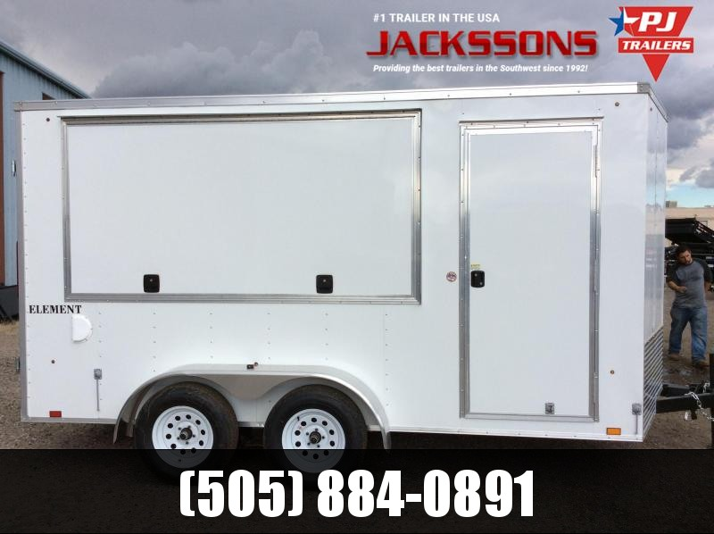 2018 Look Trailers VENDING 7X14 Vending / Concession Trailer