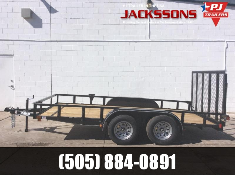 "2020 16' x 83"" Channel Utility Trailer"