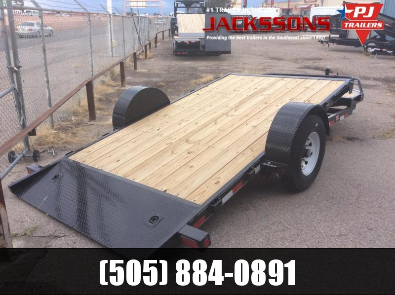 2019 PJ Trailers 13' Single Axle HD Tilt Trailer