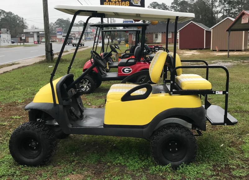 2011 Club Car Precedent 2 + 2 Golf Cart