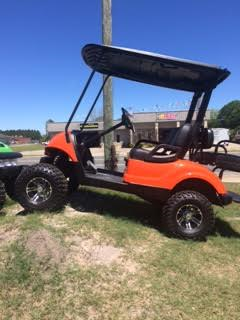 Yamaha 2+2 Passenger - Orange