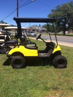 Yamaha 2+2 Passenger - Yellow GAS
