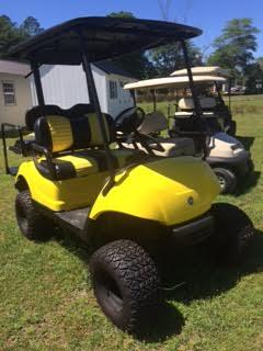 Yamaha 2+2 Passenger - Yellow GAS