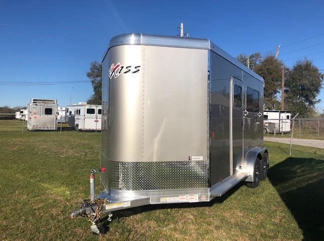 2020 Exiss Trailers 2 horse straight load bumper pull (model 724) Horse Trailer
