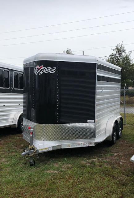 2020 Exiss Trailers 2 horse bumper pull (CX) Horse Trailer