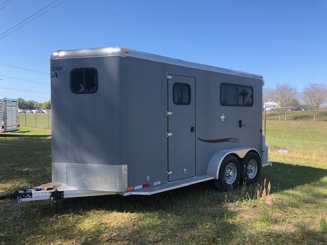 2016 Trailers USA Inc. 2 horse straight load bumper pull Horse Trailer