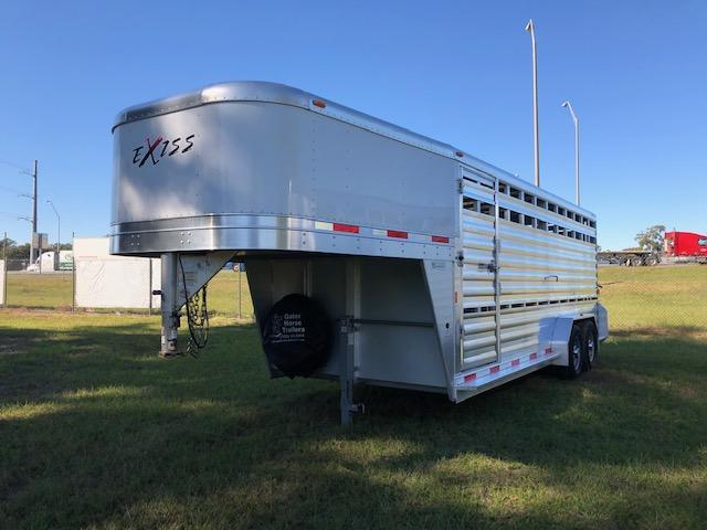 2016 Exiss Trailers stock 20 Livestock Trailer