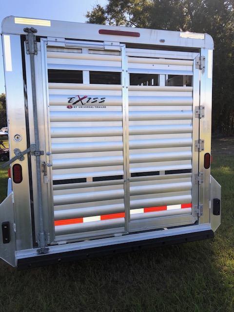 2016 Exiss Trailers stock 20 Livestock Trailer