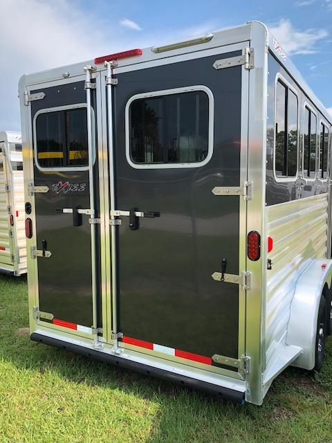 2020 Exiss Trailers 3 horse (model XT) bumper pull w/dressing room Horse Trailer