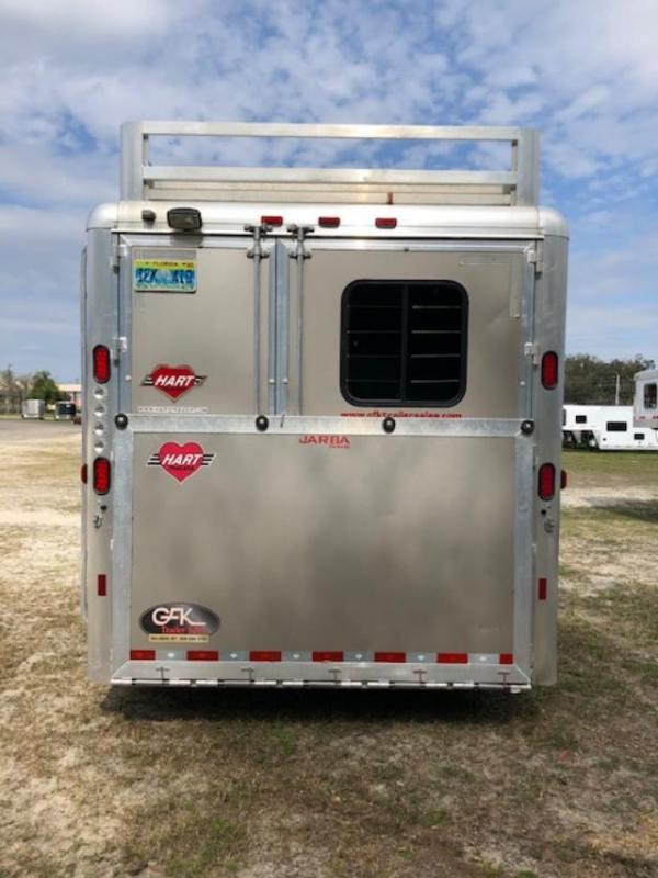 2015 Hart 8 wide 3 horse w/12' lq Horse Trailer