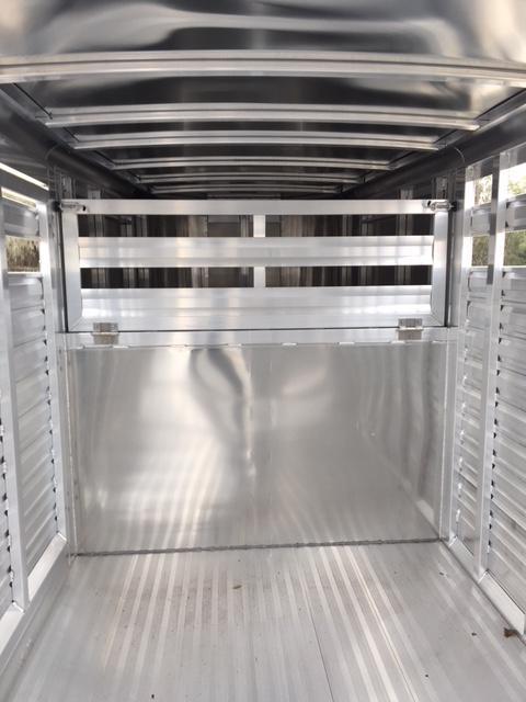 2020 Exiss Trailers stock 20 Livestock Trailer