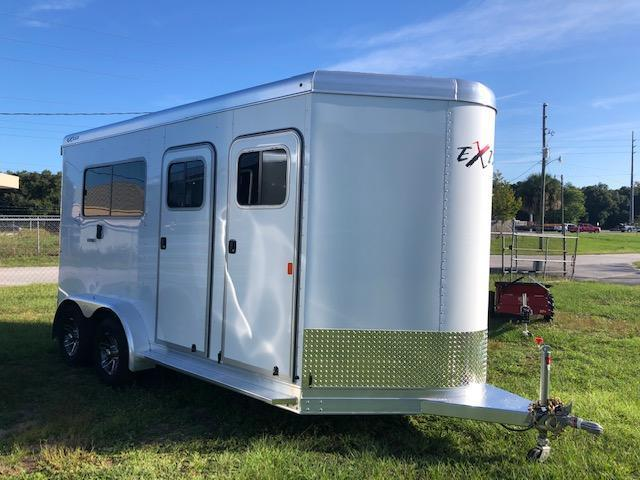 2020 Exiss Trailers 2 horse straight load (model 724) Horse Trailer