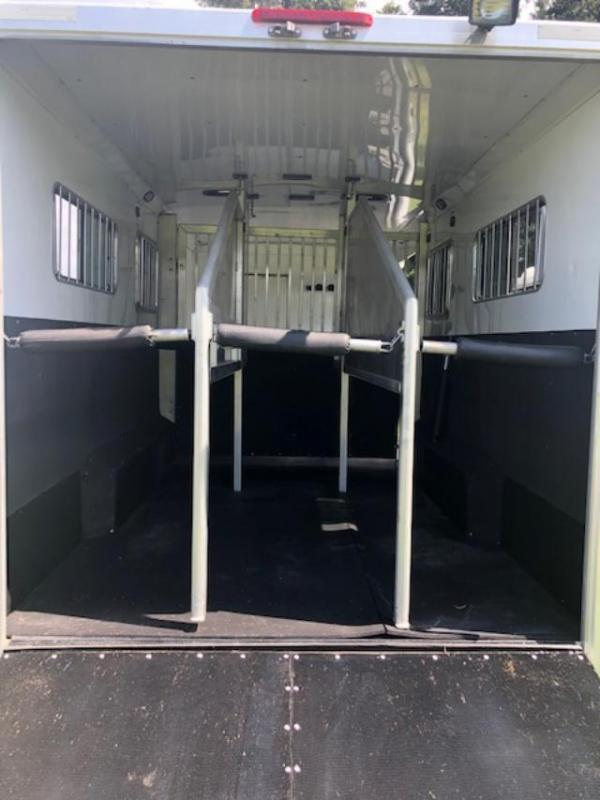 2013 Exiss Trailers 3 plus 1 w/12' lq & slide Horse Trailer