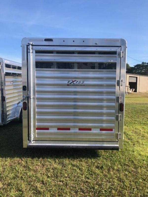 2020 Exiss Trailers 3 horse CXF w/telescoping divider Horse Trailer