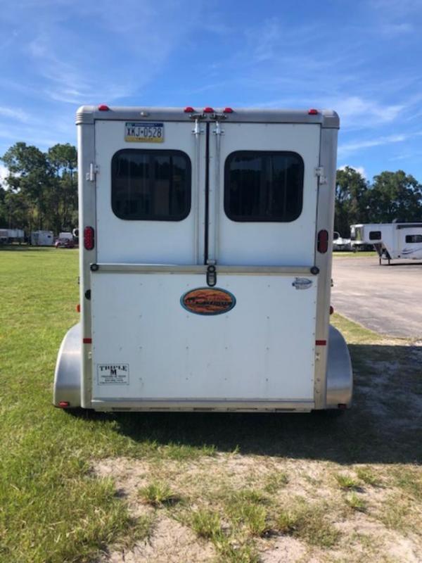 2013 Sundowner Trailers 2 horse bumper pull Horse Trailer