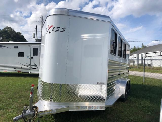 2020 Exiss Trailers 3 horse CXF insulated with rear ramp Horse Trailer