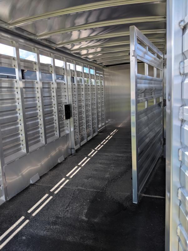 2020 Exiss Trailers stock combo 24 Horse Trailer