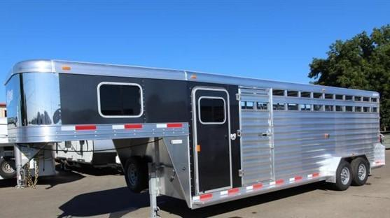 2020 Exiss 20 stock combo Horse Trailer