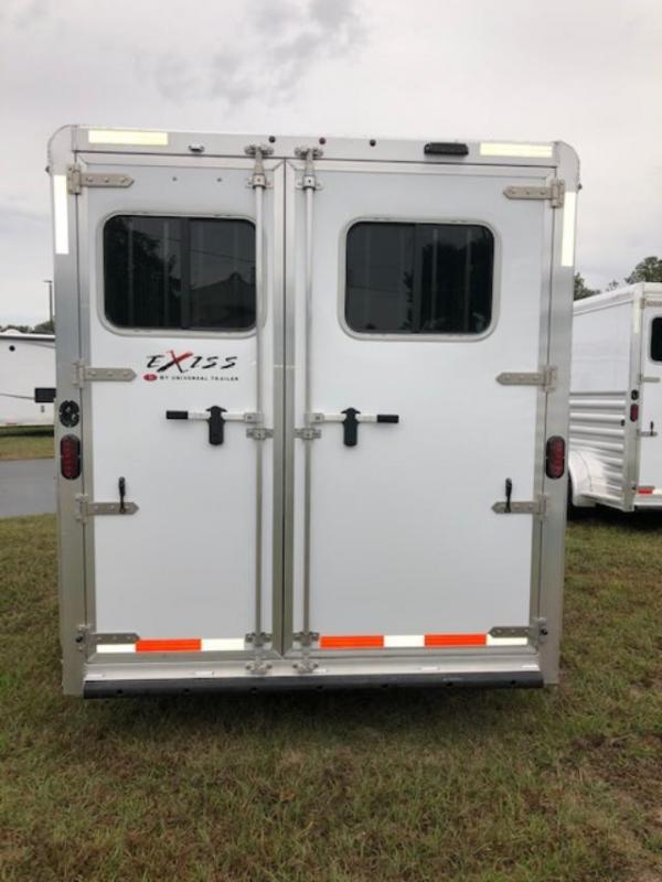 2020 Exiss Trailers 3 horse XT gooseneck w/dressing room Horse Trailer