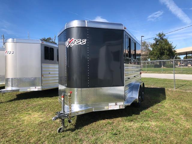 2020 Exiss Trailers 2 horse bumper pull w/ dressing room (model XT) Horse Trailer