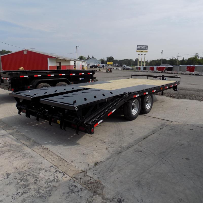 "New Iron Bull 102"" x 20' Deckover Trailer for Sale"