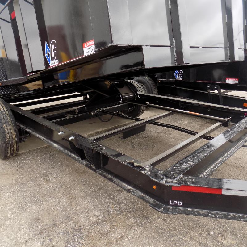 "New Diamond C 82"" x 14' Low Profile Dump Trailer For Sale - $0 Down & Payments from $142/mo. W.A.C."