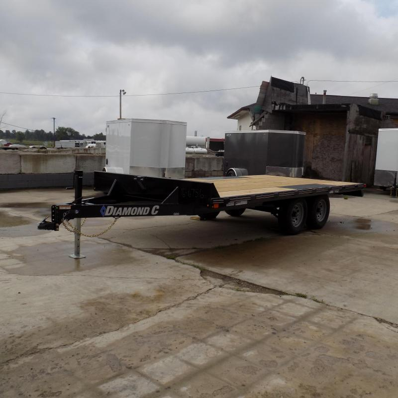"Diamond C Trailers 102"" x 16' Deckover Equipment Trailer For Sale"