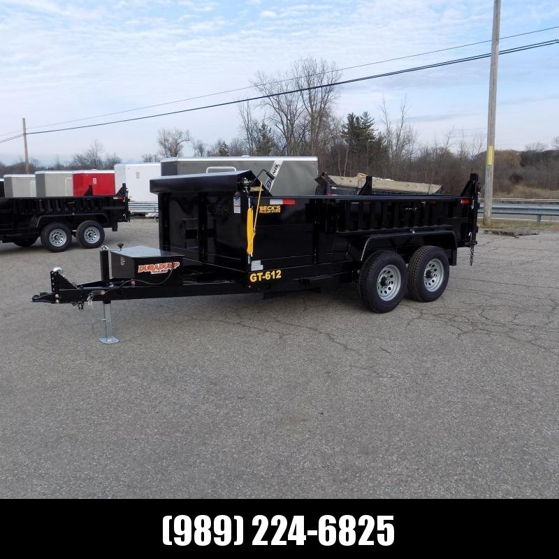 New DuraDump 6' x 12' Dump Trailer For Sale - Payment From $109/mo. With $0 Down W.A.C. - Best Deal Guarantee!