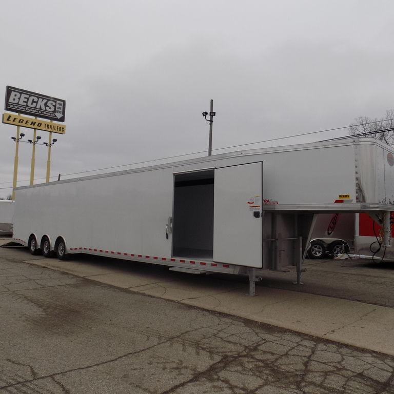 New Sundowner Trailers XTRA Series Transporter Aluminum Gooseneck Trailer