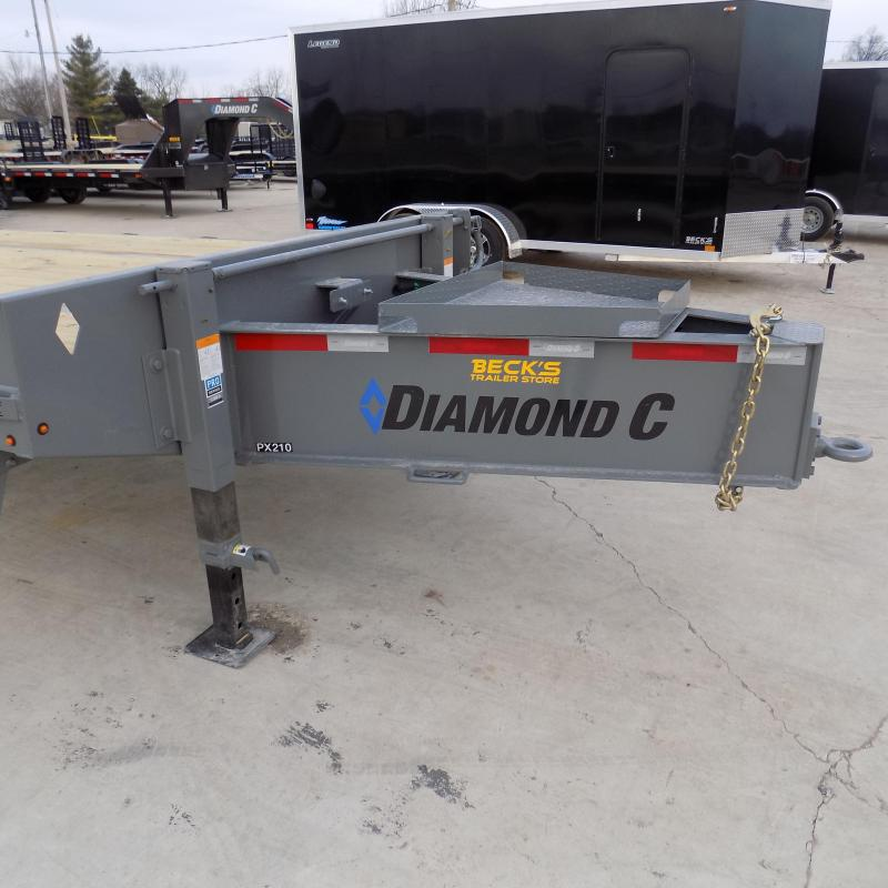 """New Diamond C 102"""" x 30' Equipment Trailer W/ 25K Weight Rating - $0 Down & Payments From $169/mo. W.A.C."""