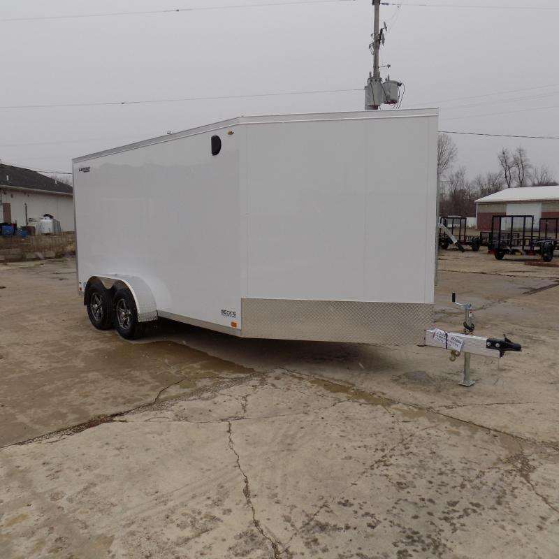 New Legend Thunder 7' x 19' Aluminum Snowmobile Trailer - $0 Down & Payments From $145/mo. W.A.C. - Best Deal Guarantee