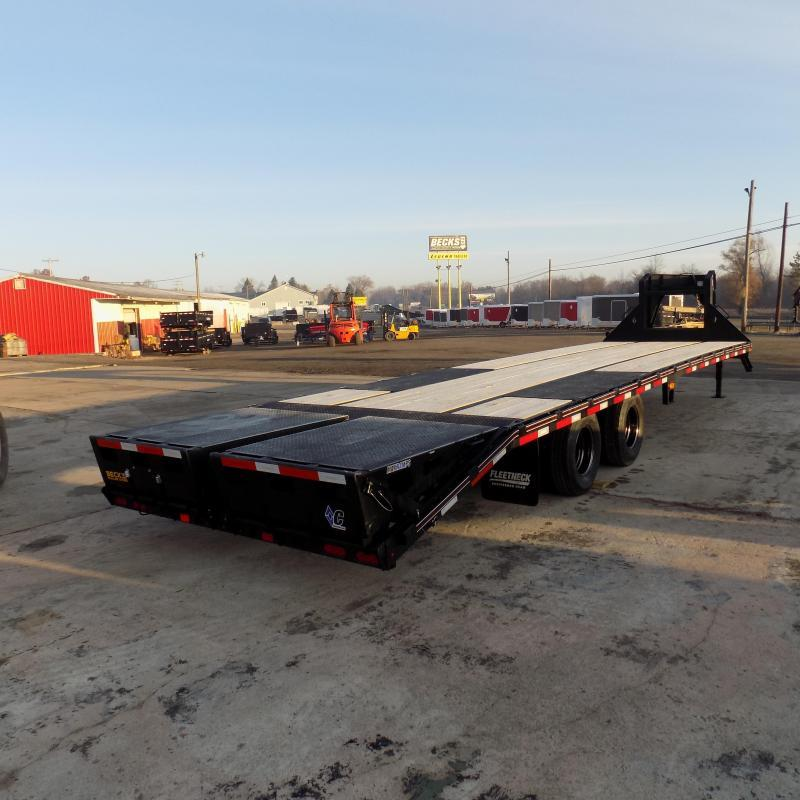 """New Diamond C Trailers 102"""" x 32"""" Gooseneck Trailer with MAX Ramps & 25K Weight Rating - $0 Down Financing Available"""