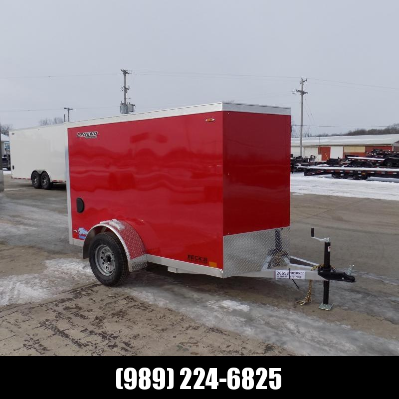 New Legend Thunder 5' x 9' Aluminum Enclosed Cargo Trailer for Sale $0 Down $77/mo. W.A.C