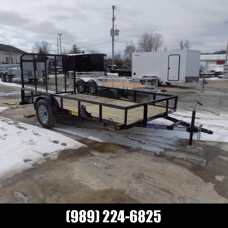 "New Load Trail 77"" X 12' Utility Trailer For Sale- $0 Down Payment from $61/mo W.A.C"