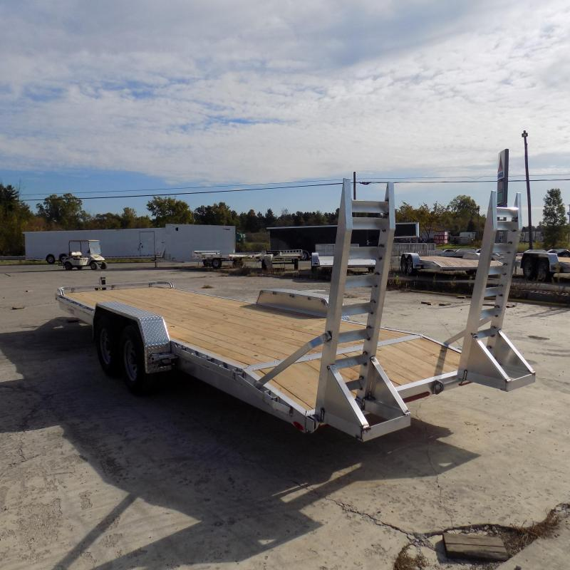 New Legend 7' x 24' Aluminum Equipment Trailer For Sale - Payment from $135/mo. w/ $0 Down W.A.C.