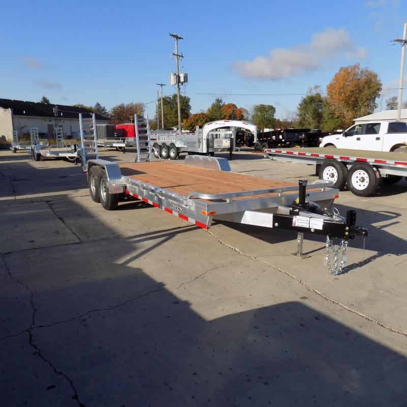 New Legend 7' x 22' Aluminum Equipment Trailer For Sale - Payment from $139/mo. with $0 Down W.A.C.