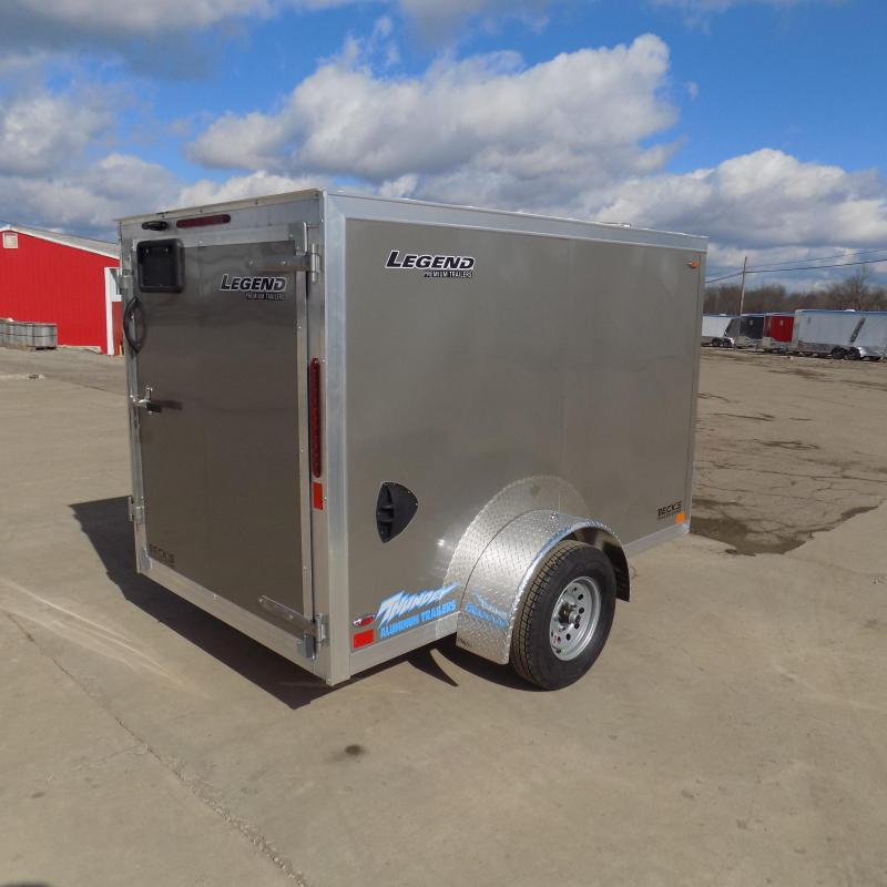 New Legend Thunder 5' x 9' Aluminum Enclosed Cargo Trailer for Sale- $0 Down Payments From $69/Mo W.A.C.
