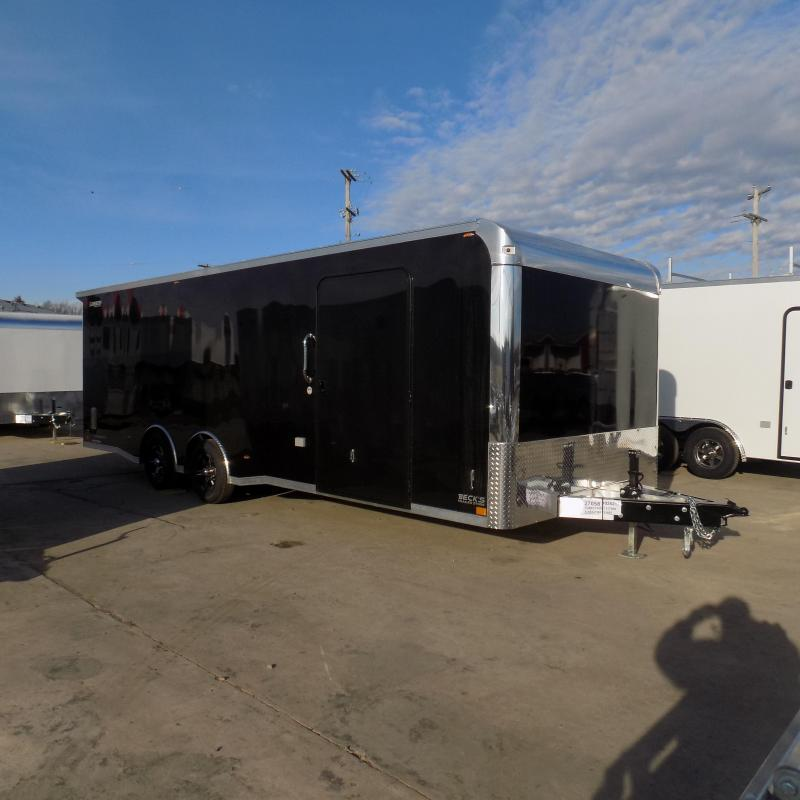 New Legend Trailmaster 8.5' x 24' Aluminum Race Series Trailer w/ Escape Door & Removable Fender - $0 Down Financing Available